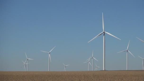 Větrné farmy generátory moderní technologie Power výrobu ekologické energie