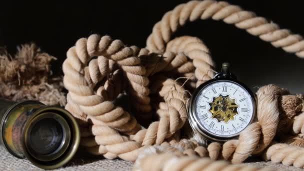 Vintage style shot. Antique clock.
