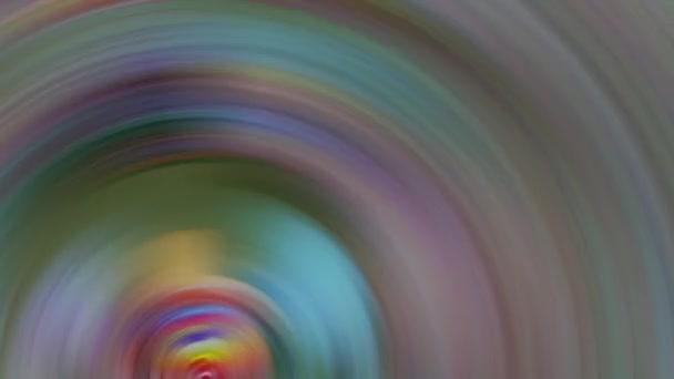 Kruhy s barevným obrazem a opakování animovaného pozadí, burzovní grafika