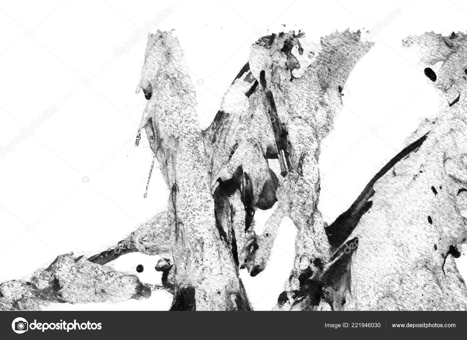 Black And White Gaming Wallpaper Abstract Ink Background Marble
