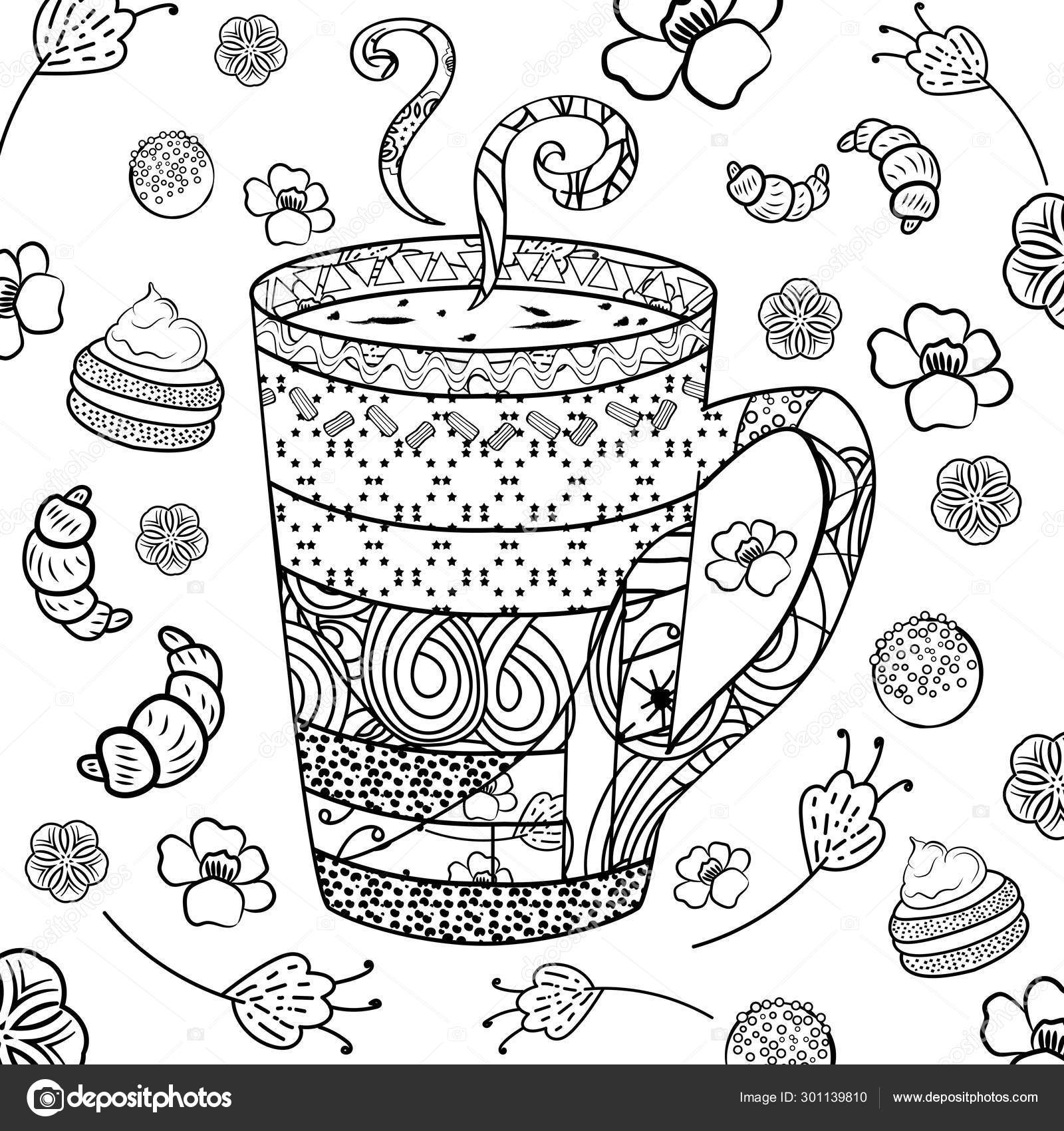 coloring book ~ Zentangle Coloring Book Stock Vector Illustration ... | 1700x1600