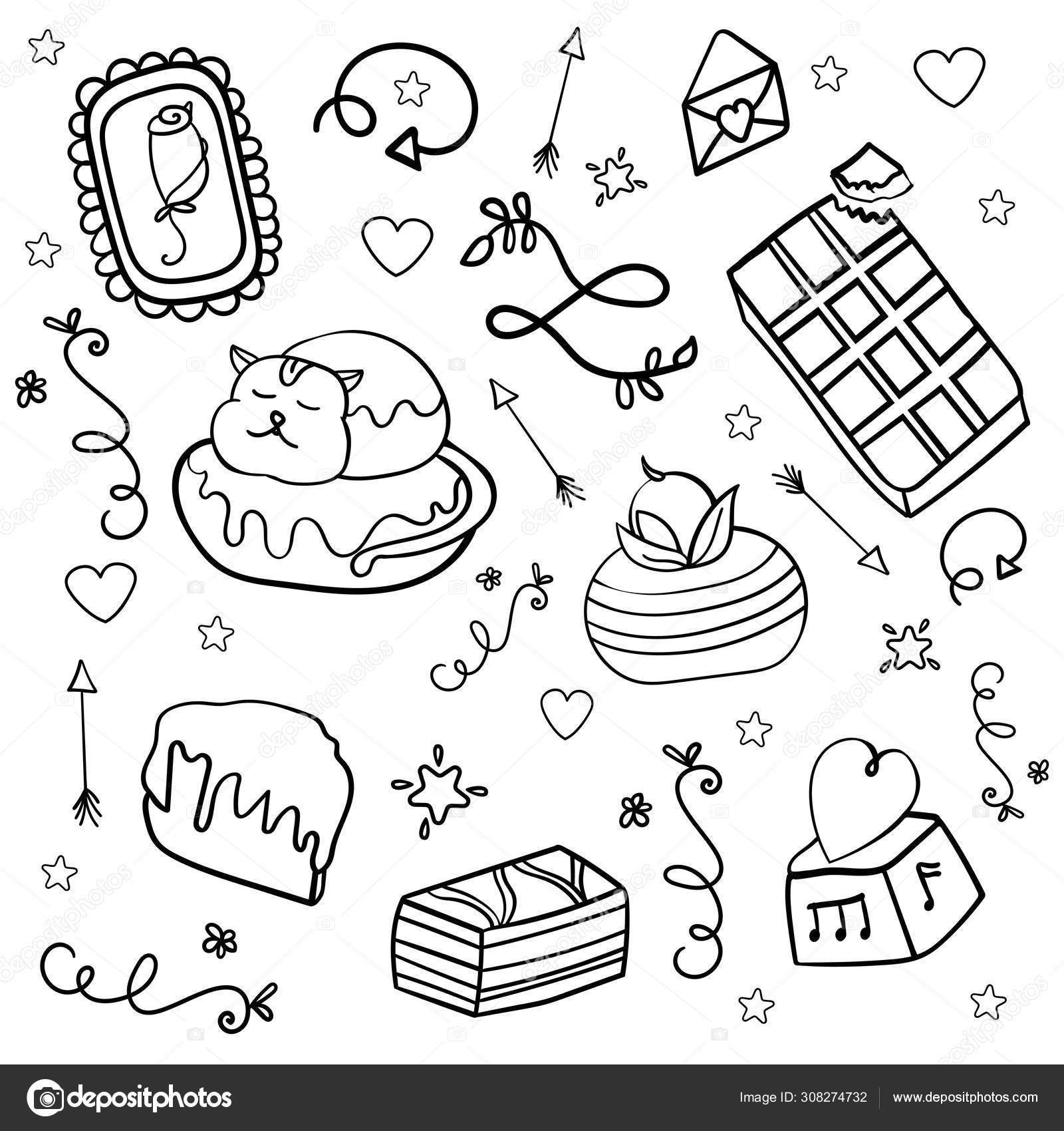 Brownie Bite Coloring Page | Coloring pages, Chocolate chip ... | 1700x1600