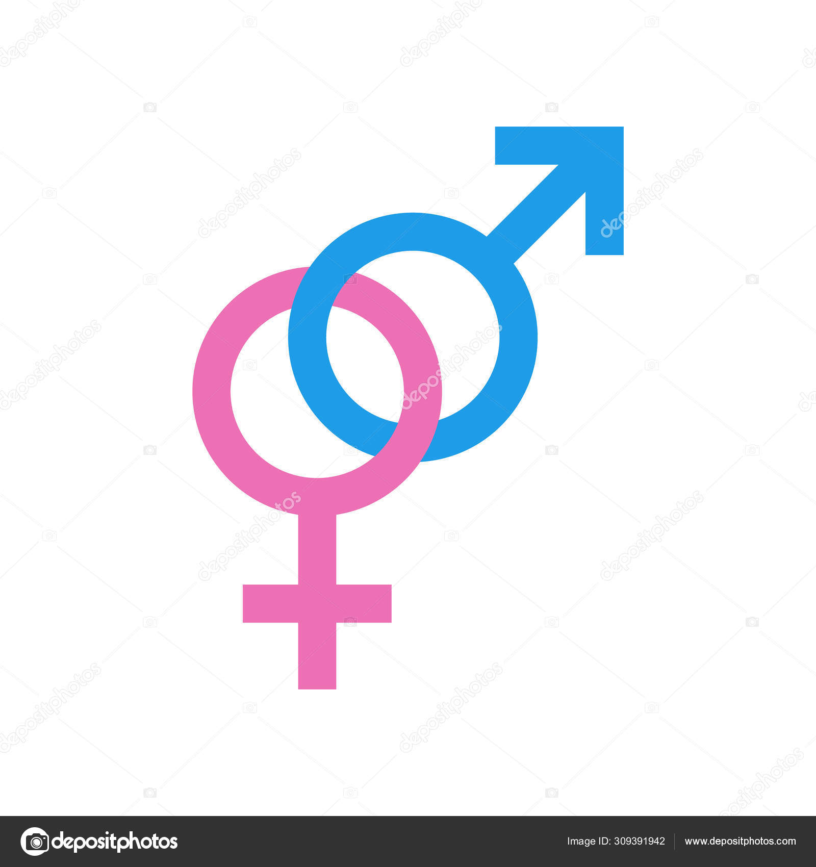 gender icon. male and female icon. symbols of men and women. vector  illustration ⬇ vector image by © pupsy   vector stock 309391942  depositphotos