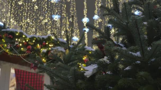 Decorazioni di Natale per le strade.