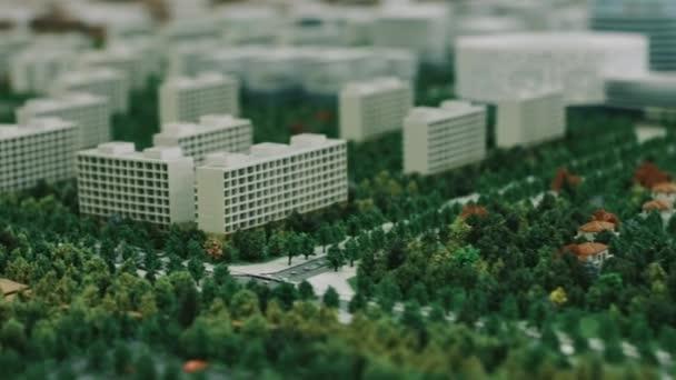 Architekturmodell Wohnviertels für Business-Präsentation