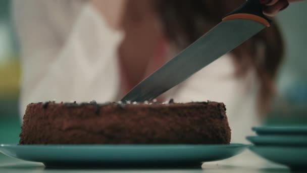Marvelous Female Hand Cutting Birthday Cake With Knife Birthday Party Funny Birthday Cards Online Benoljebrpdamsfinfo