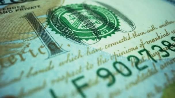 Amerikai dollár készpénzben. Amerikai Egyesült Államok hivatalos pénzneme.