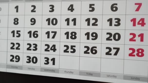 Dovolená, office kalendář a nálepka