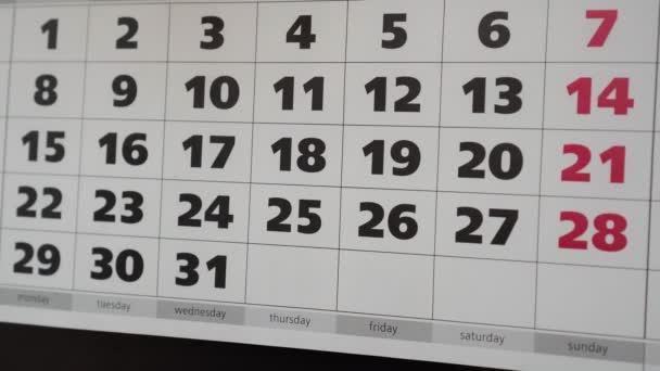Kalendář sady Office, sex nálepku. pojetí sexu podle plánu.