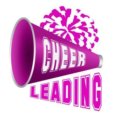 Logo for cheerleading. Vector illustration