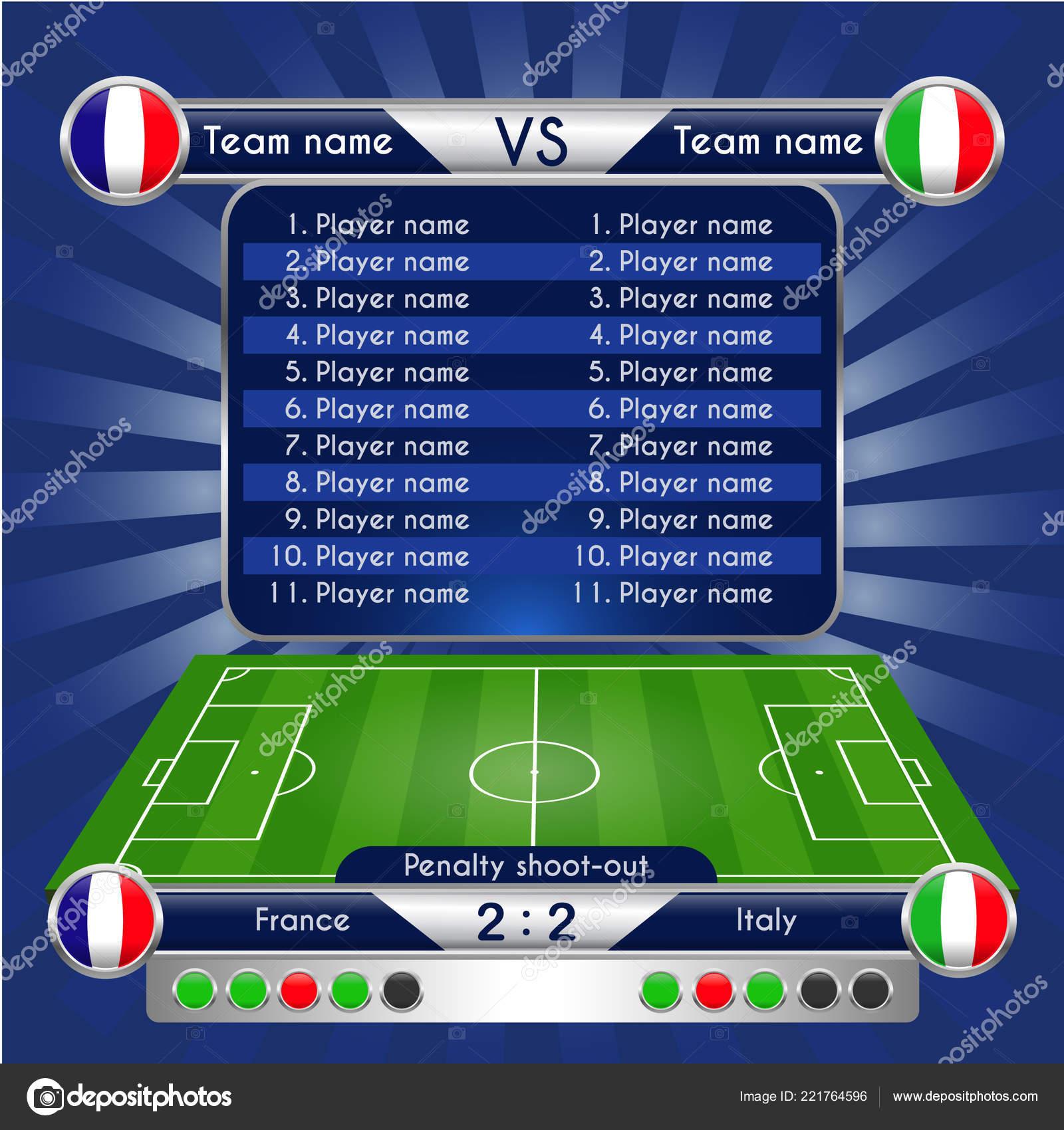 4d59aaff05f77 Gráficos Emisión Para Programa Deporte Estadísticas Partido Fútbol ...