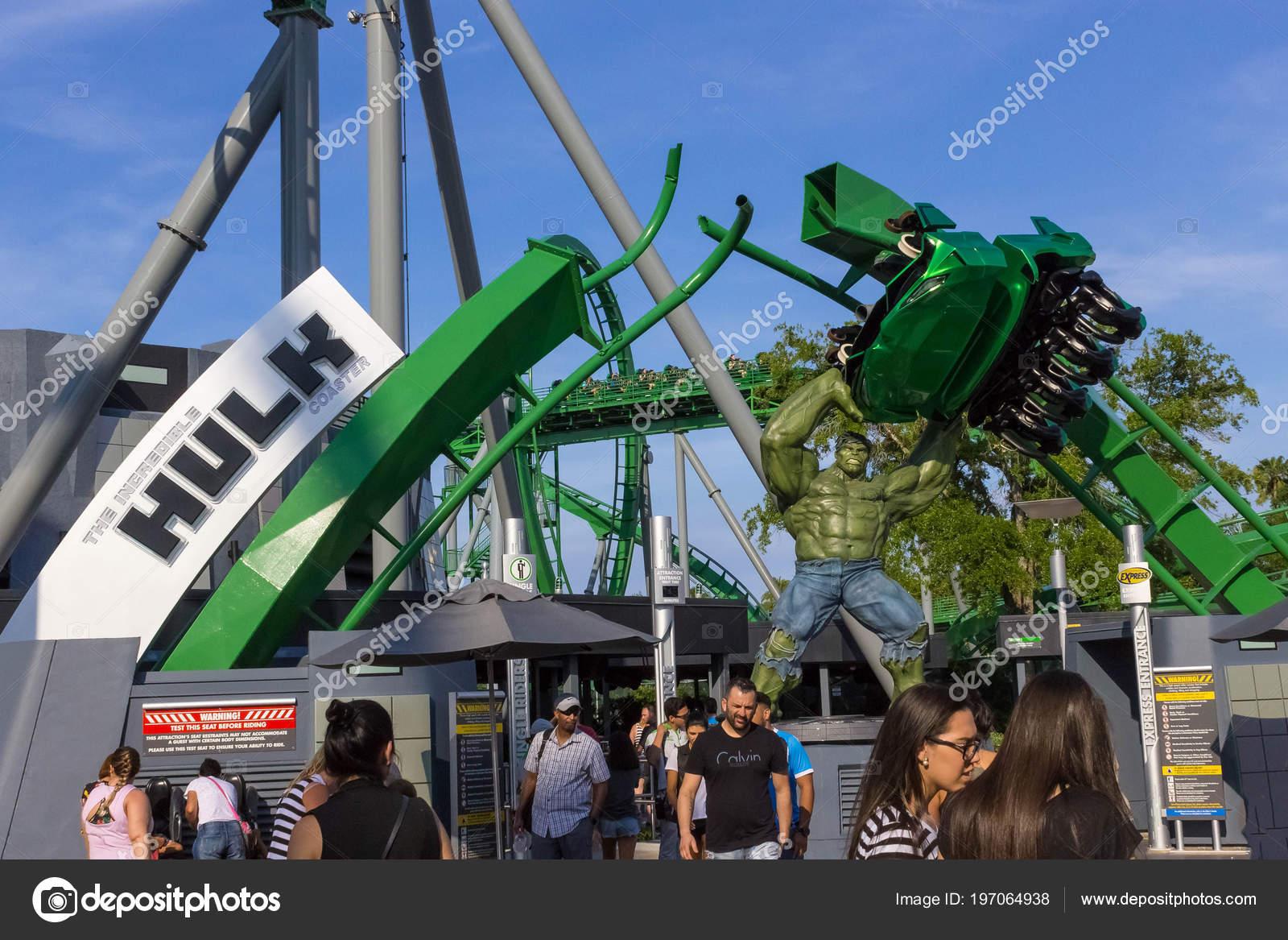 Universal Studios Island Of Adventure Orlando Florida Usa