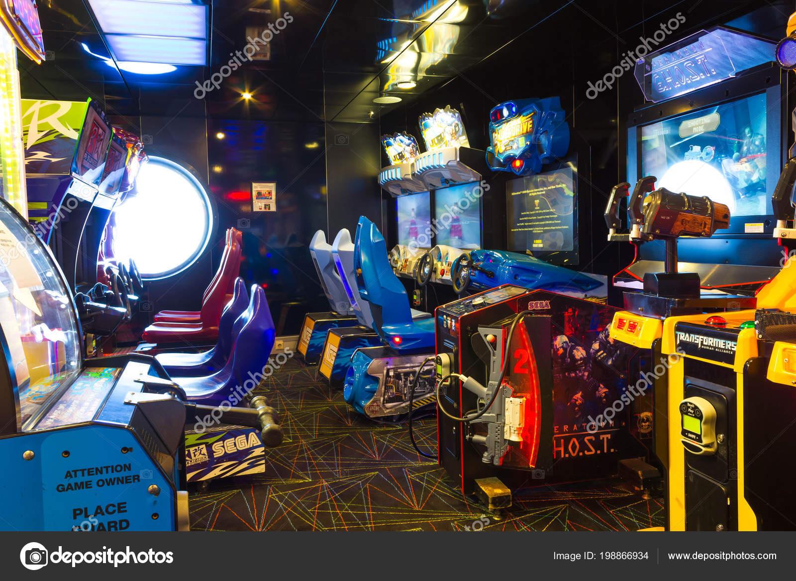 детские игровые автоматы в москве