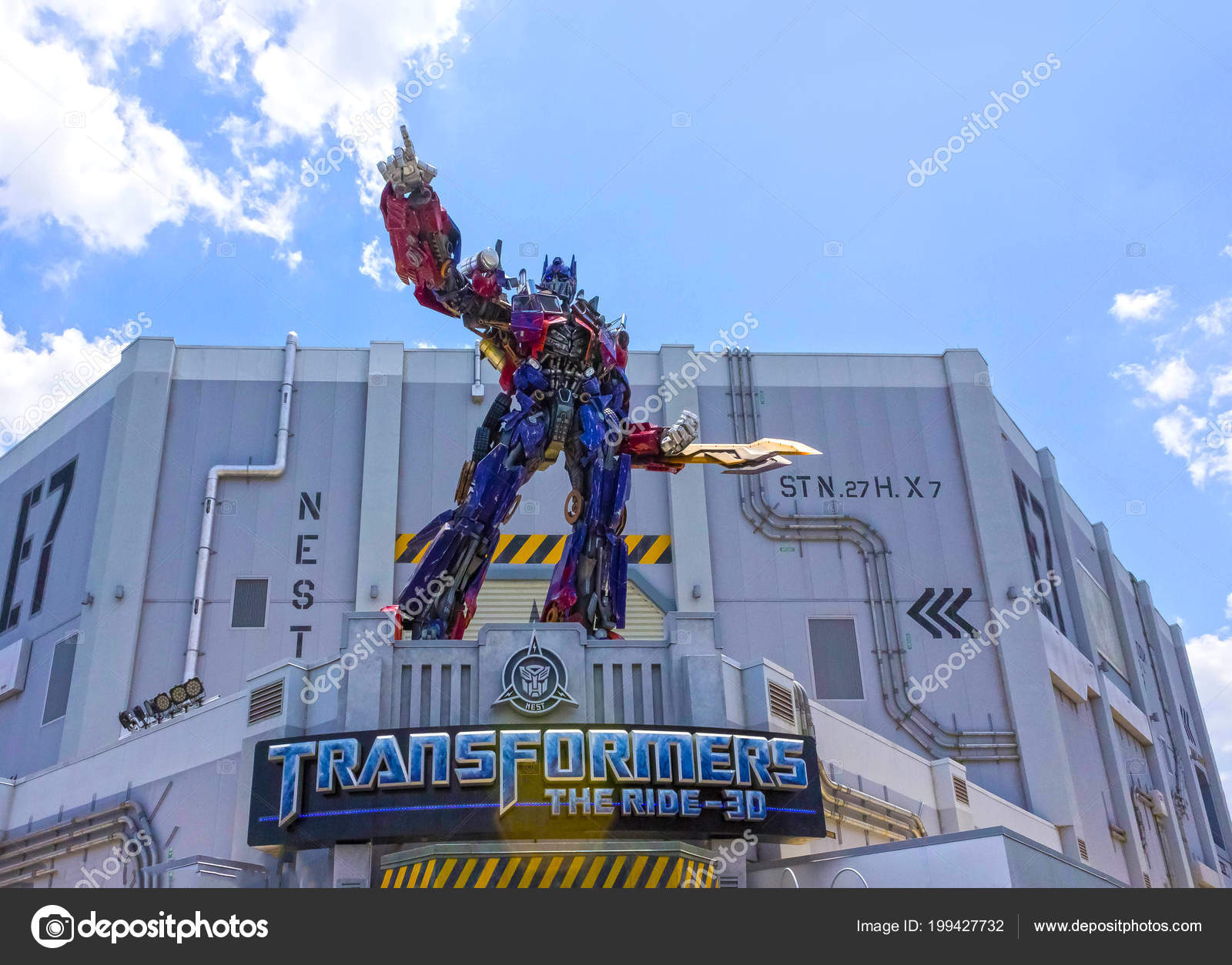 ORLANDO, FLORIDA, USA - MAY 08, 2018: Universal Studios