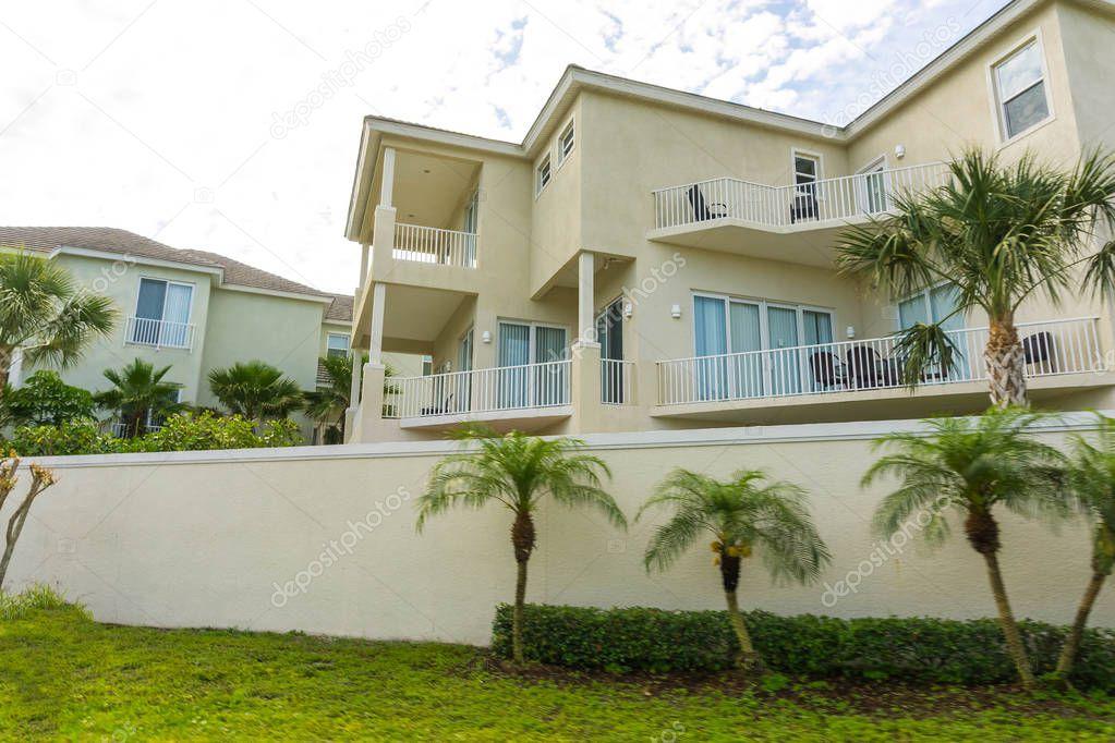 The beach house at Siesta Key at Florida, USA