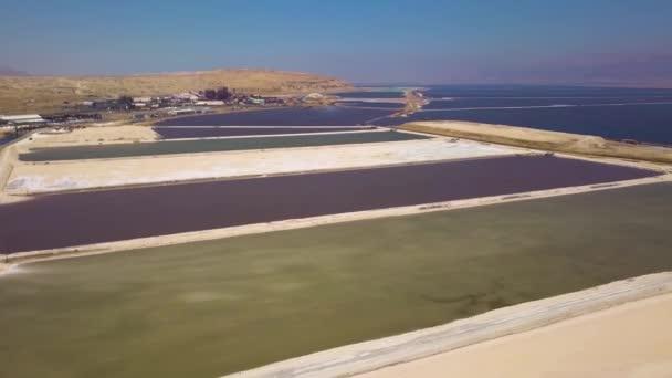 Mrtvé moře bazény, 4 k letecké dron záběry