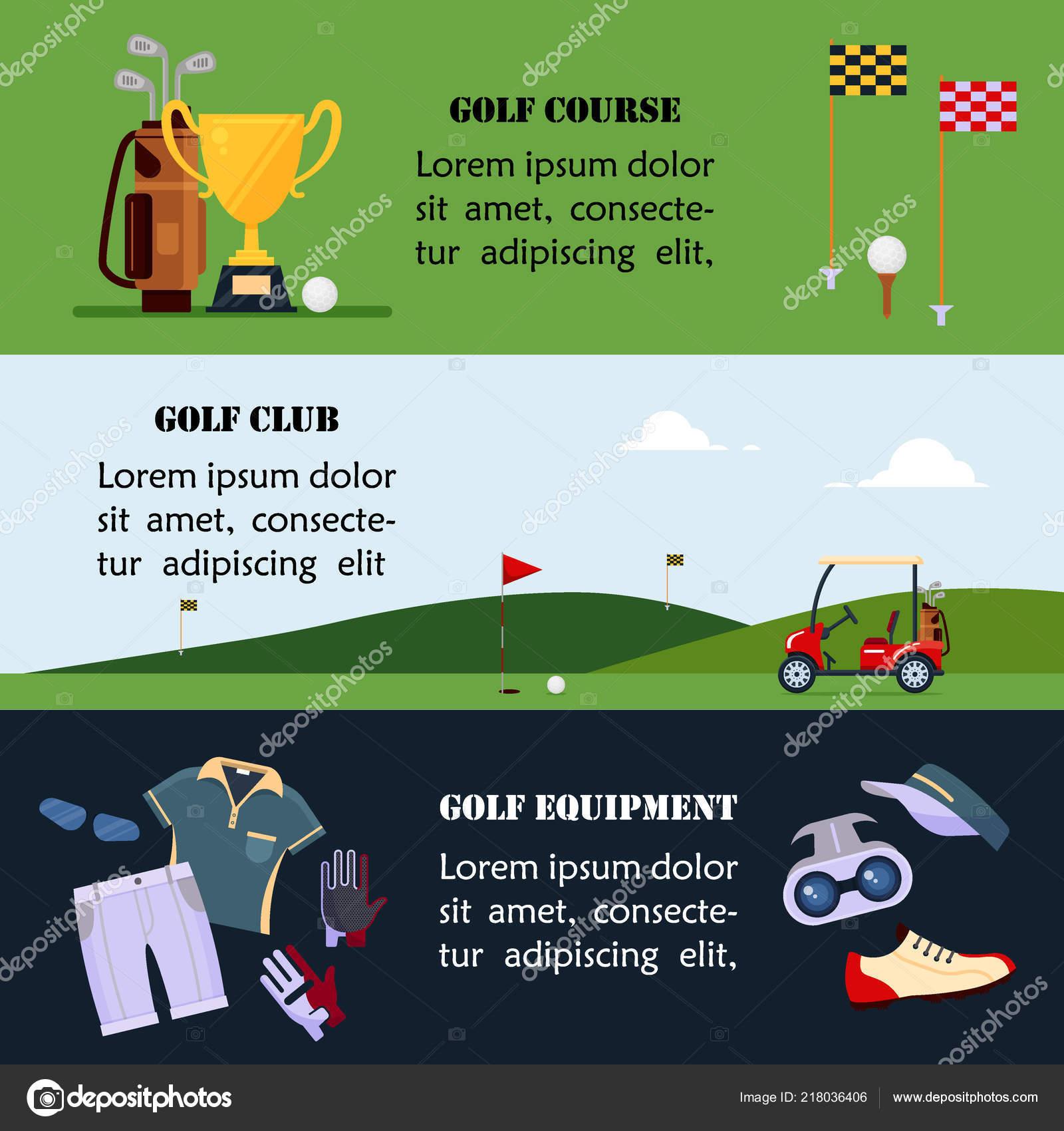 126a54cf9 Conjunto de banners de golf