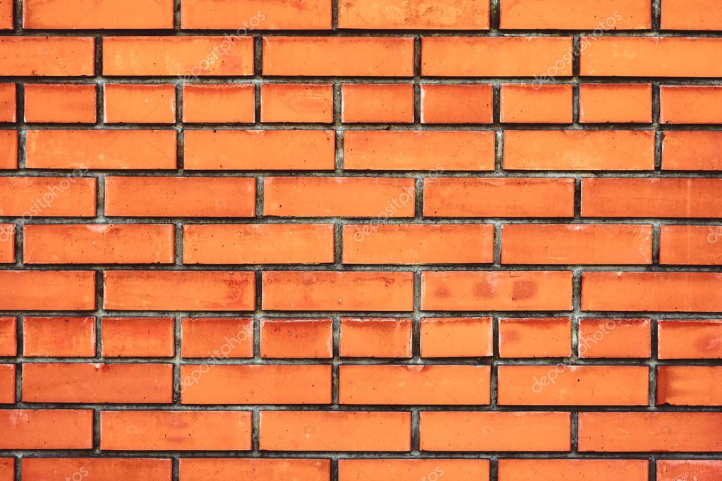 the texture of the brick