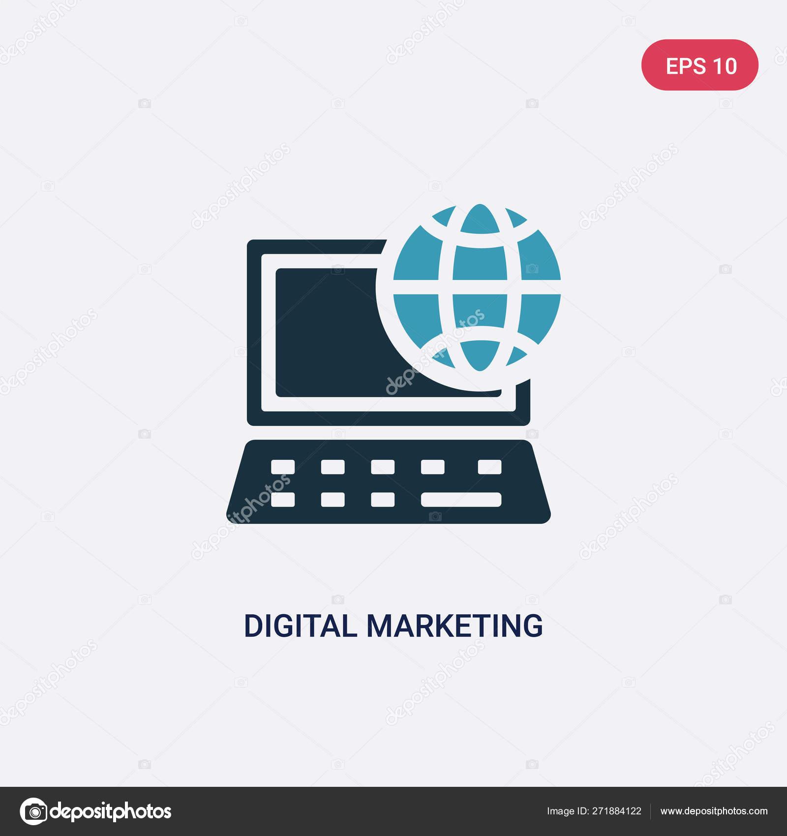 two color digital marketing vector icon from social media market stock vector c zaurrahimov 271884122 two color digital marketing vector icon from social media market stock vector c zaurrahimov 271884122