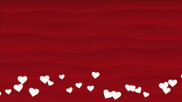 Abstract romantic background with hearts for Valentines Day and Wedding Day