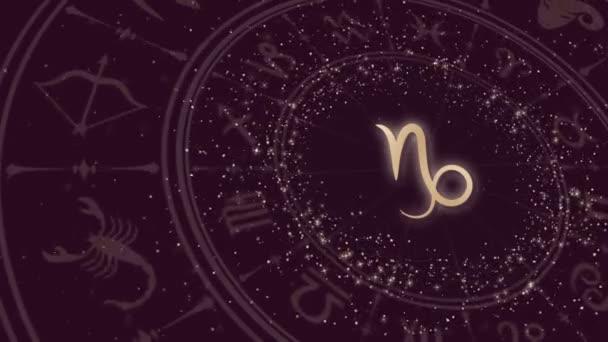 Tierkreiszeichen Steinbock und Horoskoprad