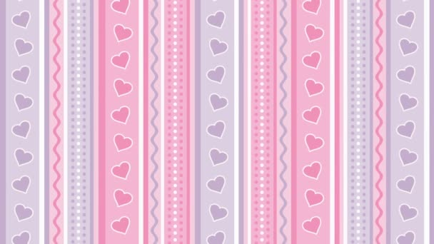 Pink purple background with hearts