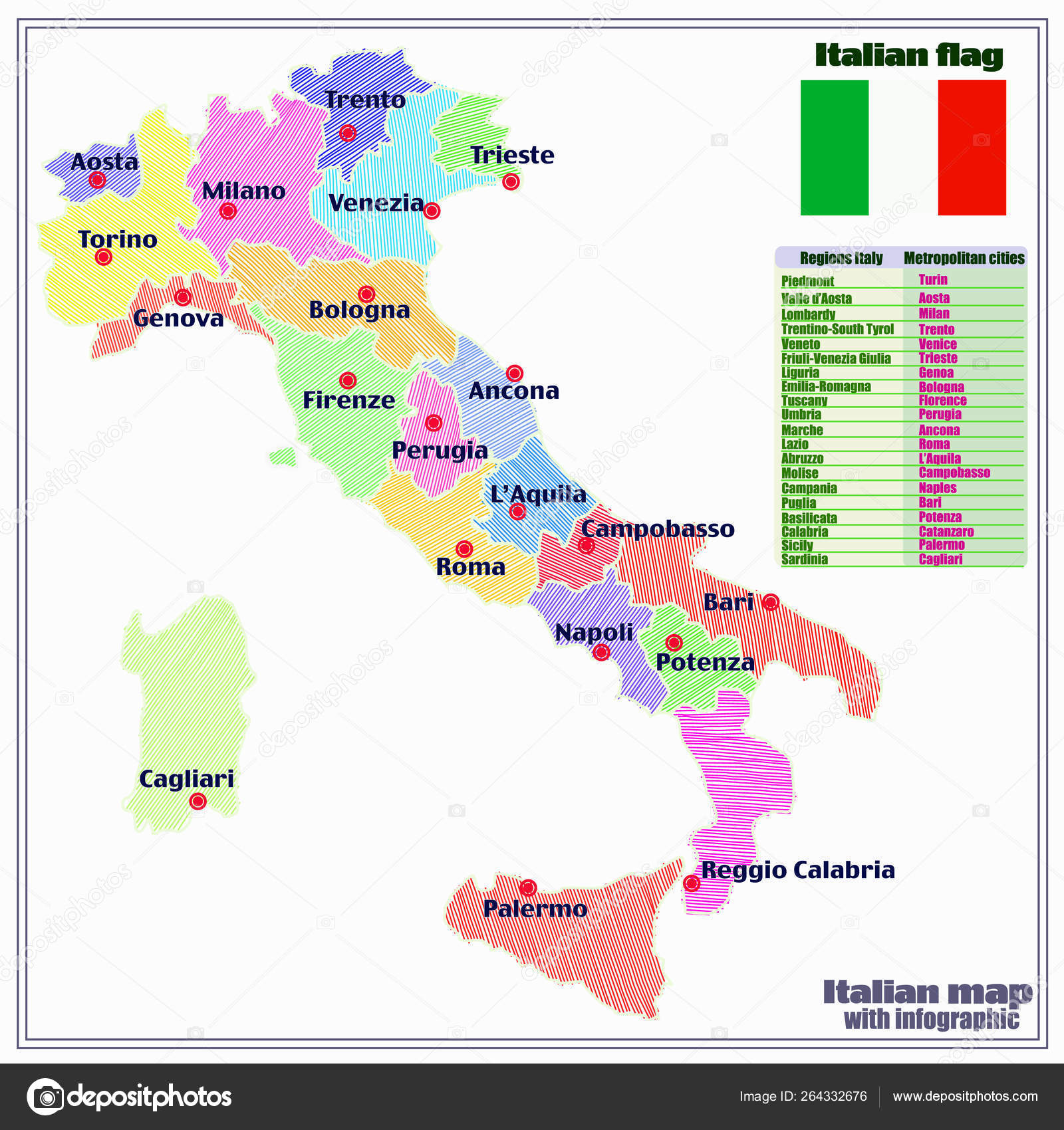 Italy map with Italian regions and infographic. — Stock ... on germany map regions, ancient rome map regions, portugal map regions, italy history, israel map regions, france map regions, italy population pie-chart, espana map regions, africa map regions, spain map regions, ireland map regions, italy gran paradiso national park, ethiopia map regions, china map regions, italy capital city, egypt map regions, denmark map regions, iraq map regions, madagascar map regions, el salvador map regions,