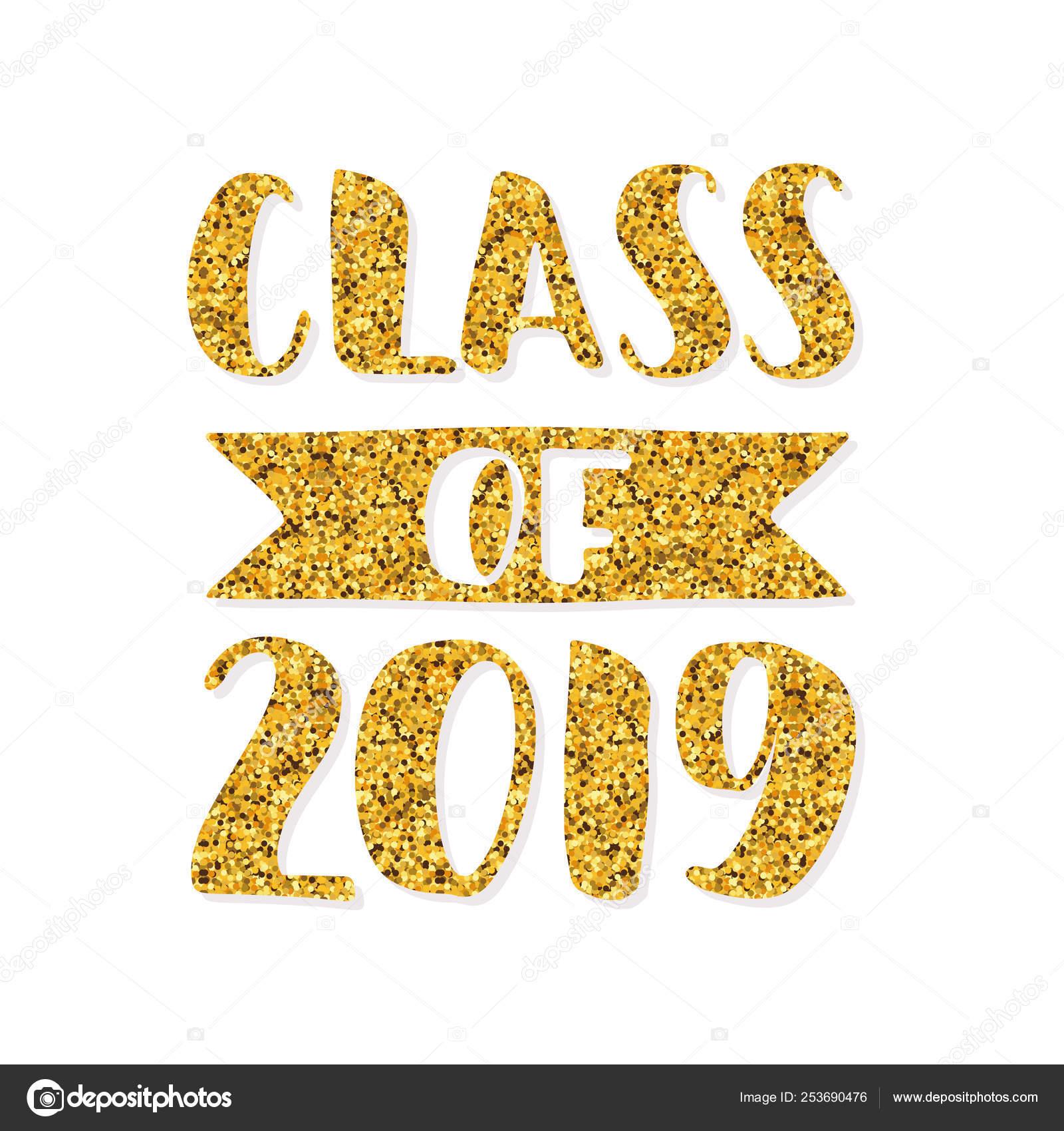 Class of 2019 graduation logo | Class of 2019  Hand drawn