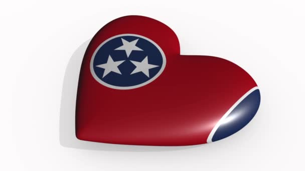 Tennessee heart beats and casts a shadow, loop