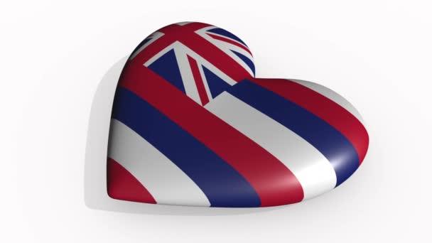 Hawaii heart beats and casts a shadow, loop