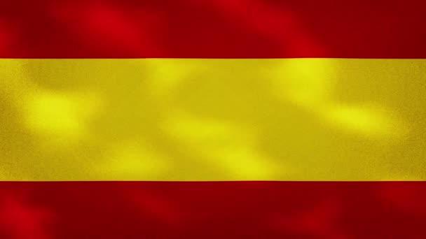 Spanyol sűrű zászló szövet hullámok, háttér hurok