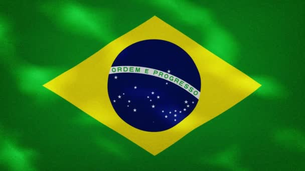 Brazilian dense flag fabric wavers, background loop