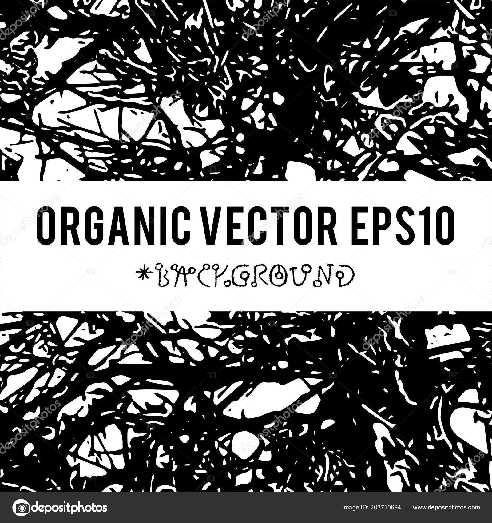 Organic Vector Background Nature Foliage Textures Dark Grunge Items