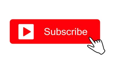 Subscribe button color with hand