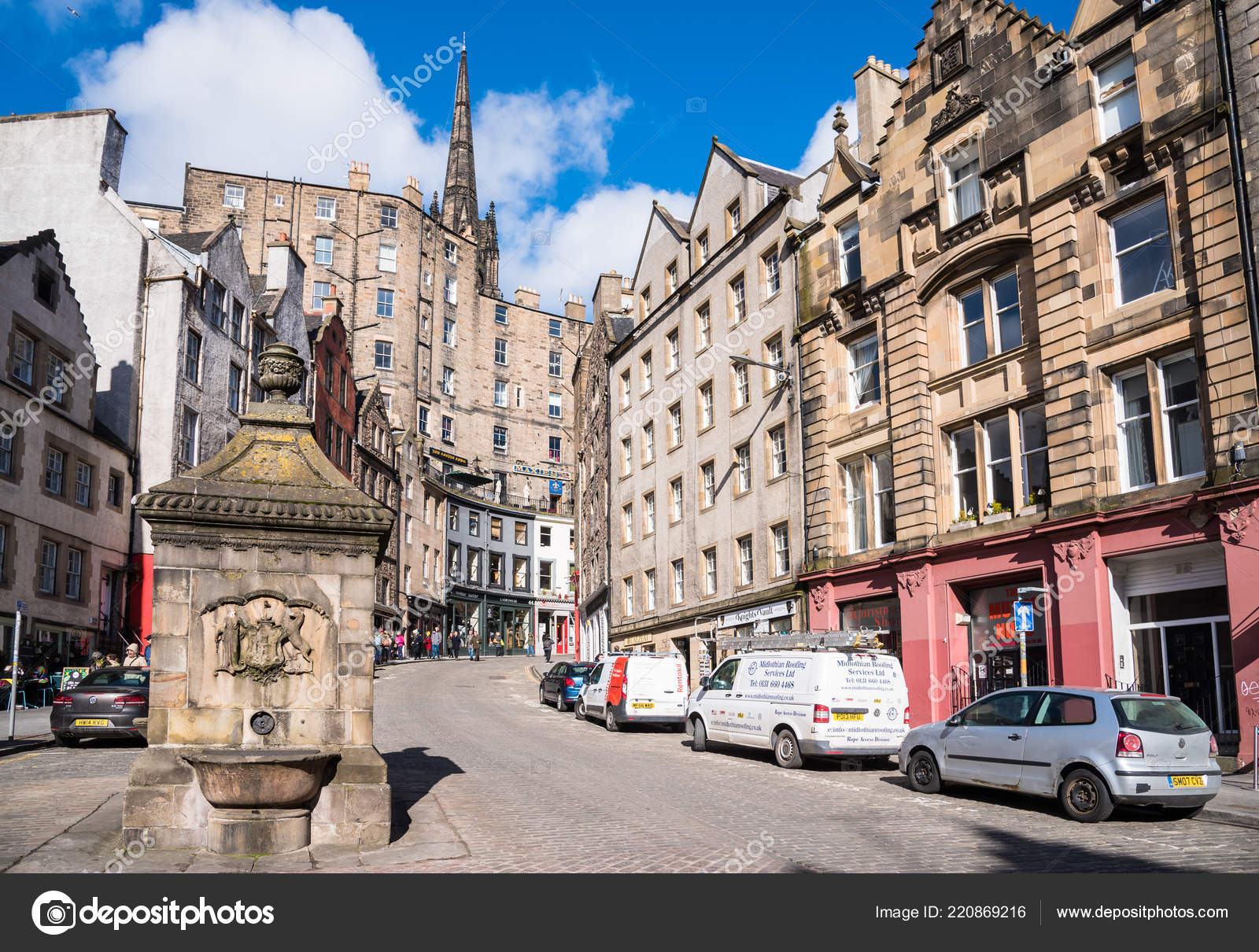 Edinburgh March 2018 Traditional Architecture Colourful