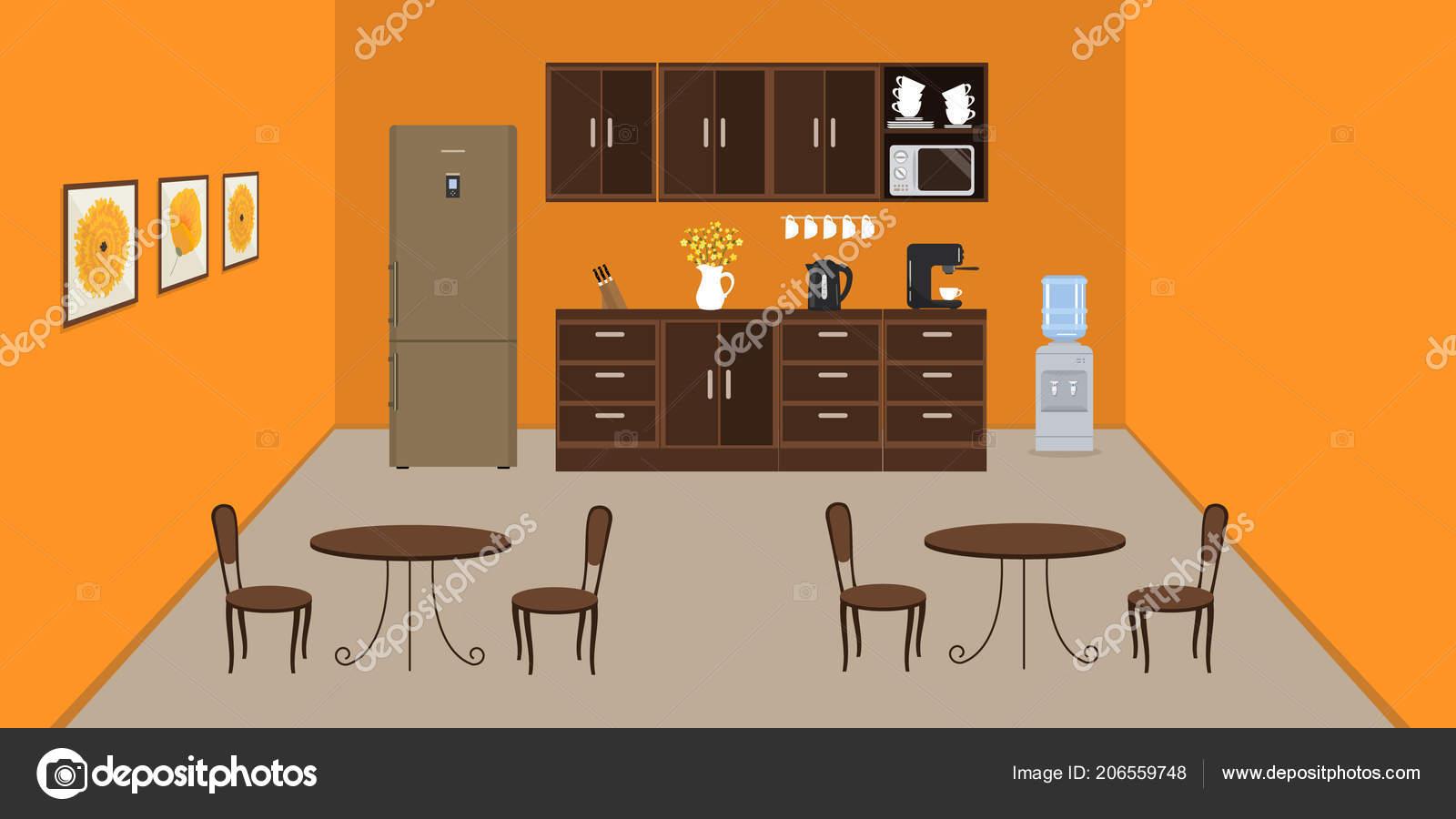 Buro Kuche Der Farbe Orange Moderne Esszimmer Buro Gibt Einen