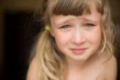 gyönyörű kislány portréja