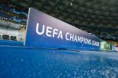 Kyjev, Ukrajina - 12. prosince 2018: UEFA Liga mistrů utkání mezi Shakhtar Doněck vs Olympique Lyon