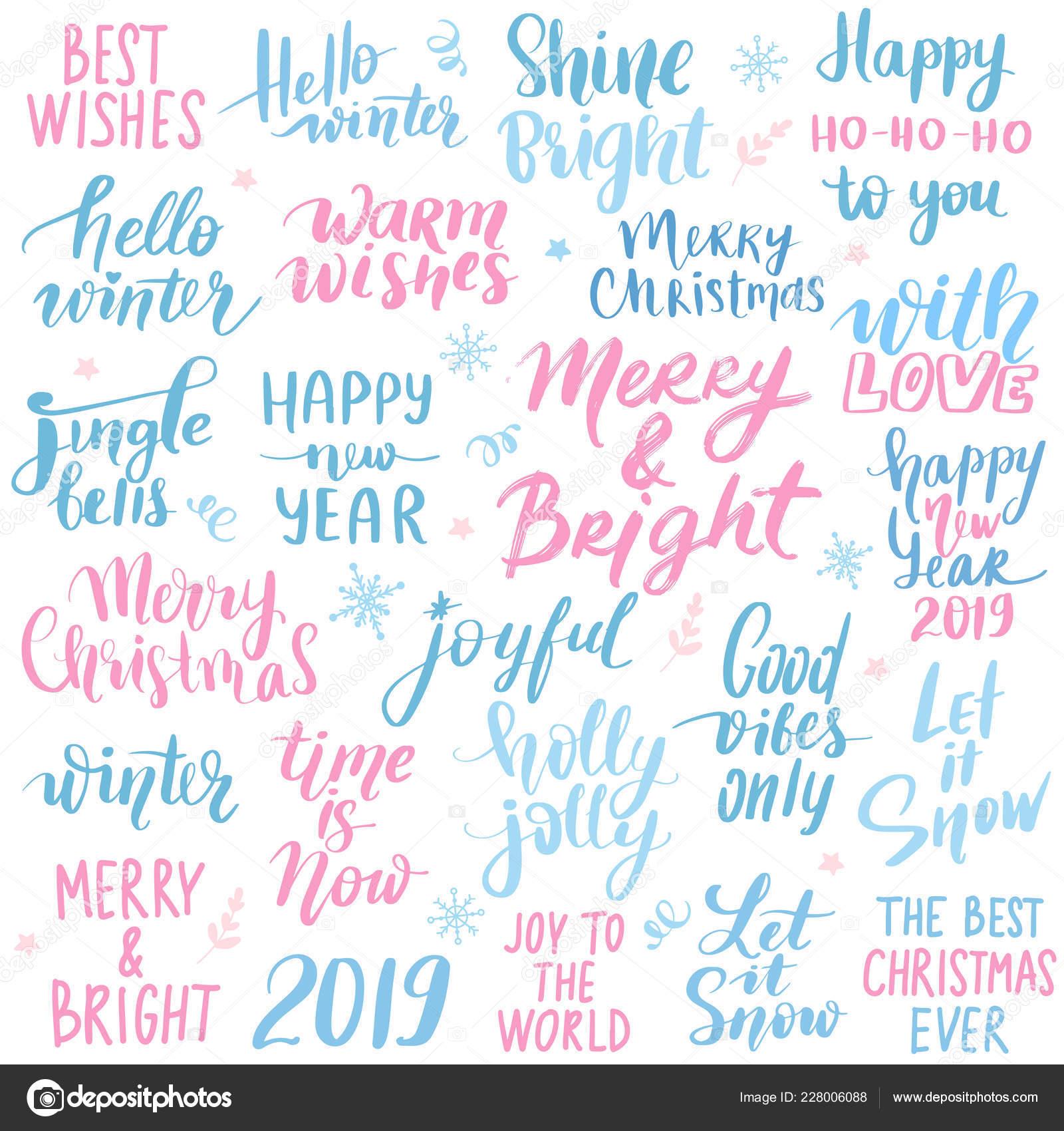 Angebote Urlaub Weihnachten 2019.Festlegen Sie Frohe Weihnachten Und Ein Glückliches Neues Jahr 2019