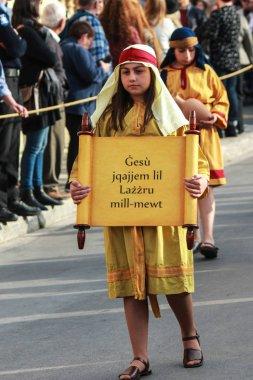 COSPICUA / MALTA - APRIL-2019 Good Friday procession at Cospicua, Malta