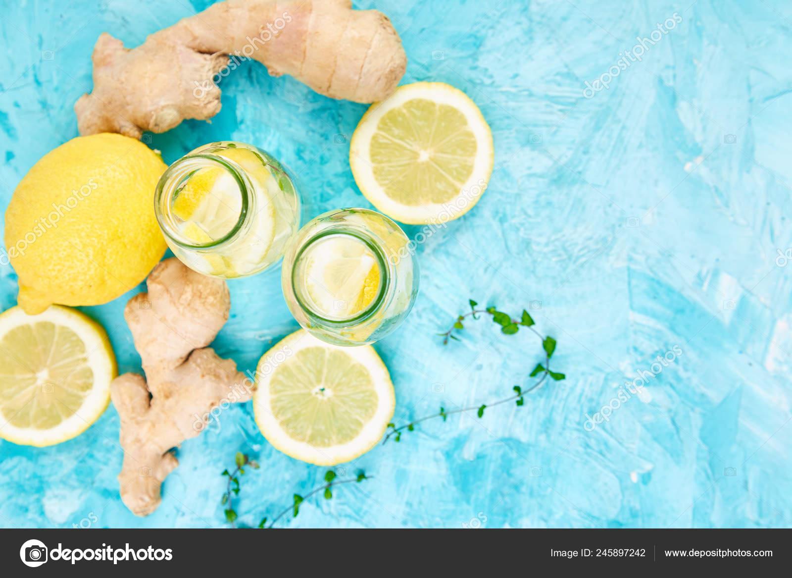 Trendy Detox Healthy Drink Detox Water Bottles Ingredients Ginger