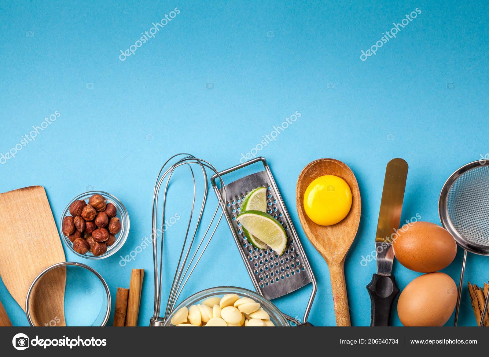 Concetto cottura cucina cornice ingredienti articoli cucina cottura