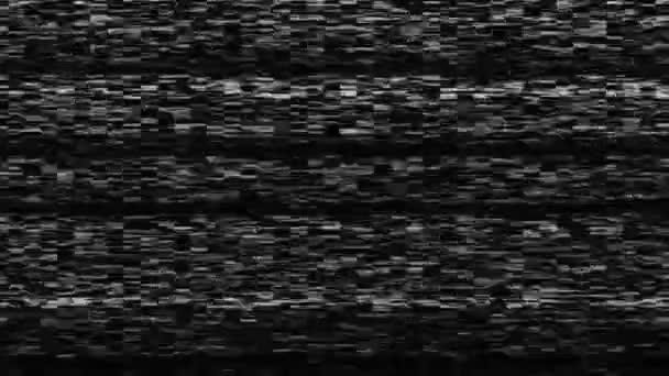 Dinamikus tv zaj, rossz tv-jel, fekete-fehér, monokróm, 3d visszaadás hátterében