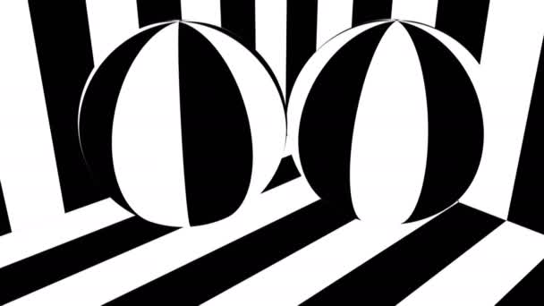 black and white stripes computer generated abstract background 3d