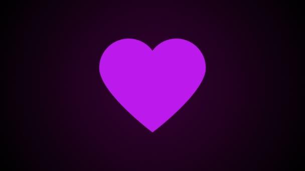 Egyszerű szív, ez a szimbólum a szerelem, absztrakt 3d számítógéppel generált háttér