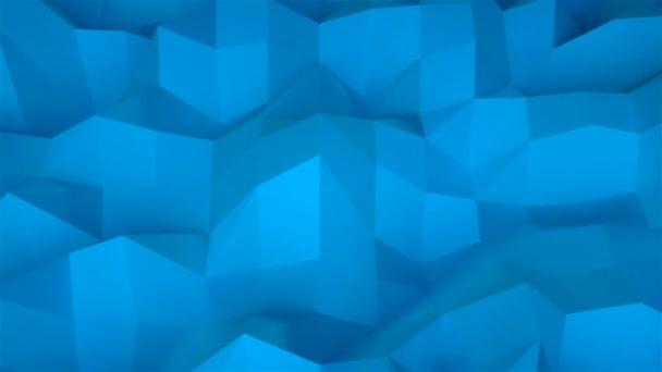 Jednoduché nízké polygonální povrch, počítač vytvořený moderní abstraktní pozadí, 3d vykreslení