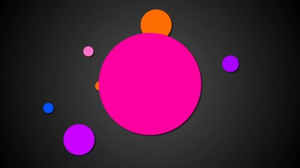 Jasných planet jsou na drahách v prostoru, kreslený styl pozadí, computeru pozadí, 3d vykreslování