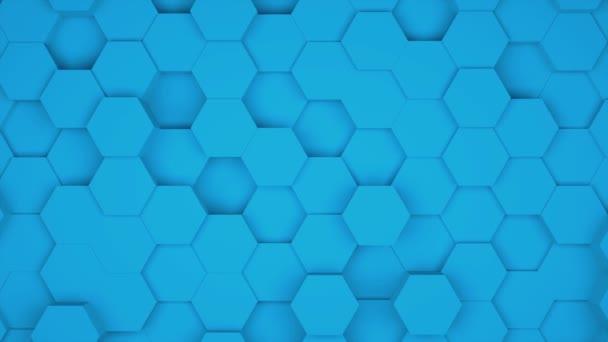 viele abstrakte geometrische Sechsecke als Welle, optische Täuschung, computergenerierte 3D-Darstellung