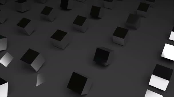 Řádky z abstraktní kostky na povrchu, moderní počítač vytvořený 3d vykreslení pozadí