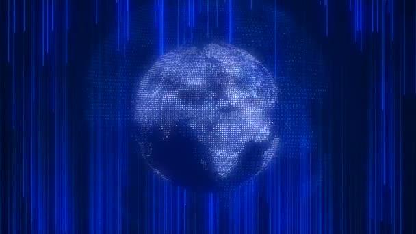 Ikona zeměkoule worldmap mapa, ploché země, svět globální technologie, 3d vykreslování backgroung